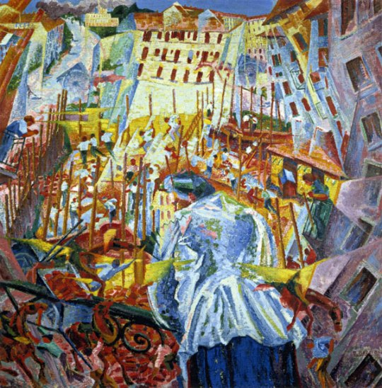 Futurism Art Movement - Umberto Boccioni painting