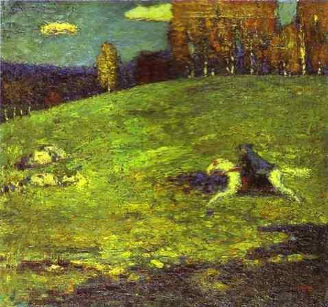 Der Blaue Reiter - Wassily Kandinsky - The Blue Rider