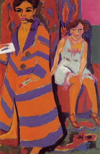 Ernst Ludwig Kirchner - Self Portrait