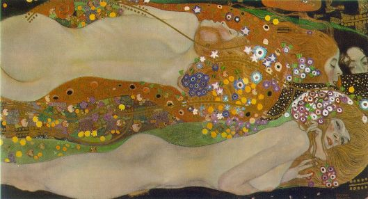 Art Nouveau History - Gustav Klimt - Aqua Mossa