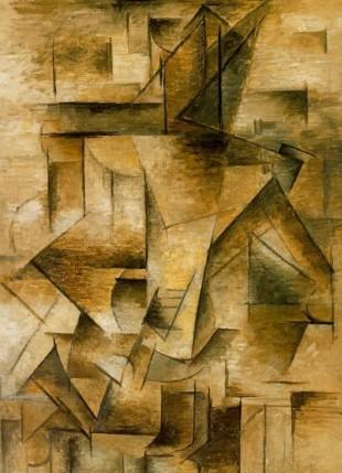 Pablo Picasso - Guitar Player - Picasso cubism