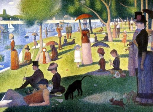 Pointilism - Georges Seurat - La Grande Jatte