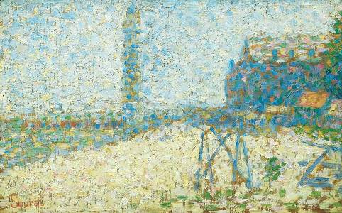 Pointilism - Georges Seurat - Study For A Lighthouse