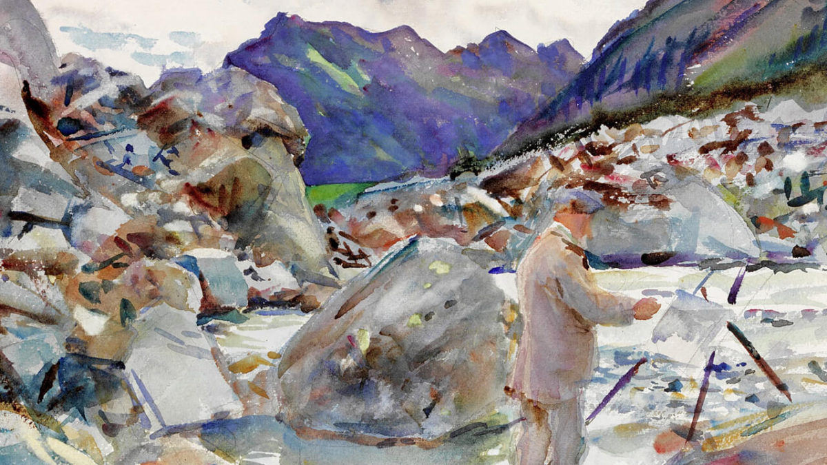 A Brief History Of Watercolor