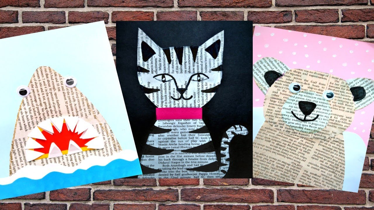 kids collage projects