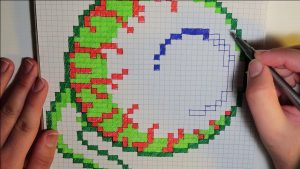 Pattern-Making Graph Paper Art